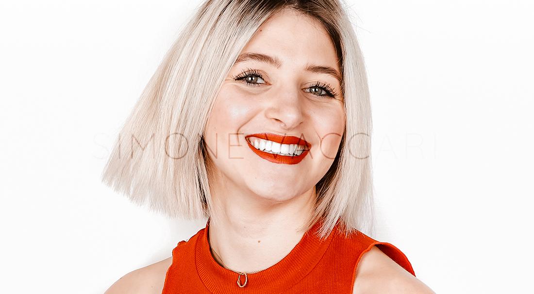 Apparecchio linguale fisso interno